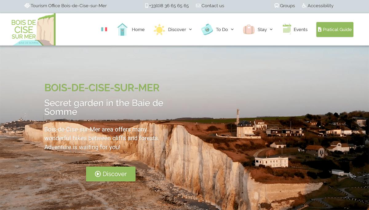localisation site office tourisme